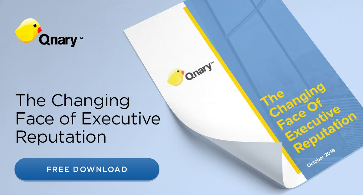 New Qnary Whitepaper: The Changing Face of Executive Reputation